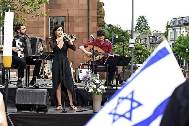 Veranstaltung Jüdisches Leben in Freiburg – unter Polizeischutz