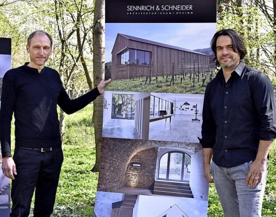 Mike Schneider (links) und Tobias Sennrich    Foto: Thomas Kunz
