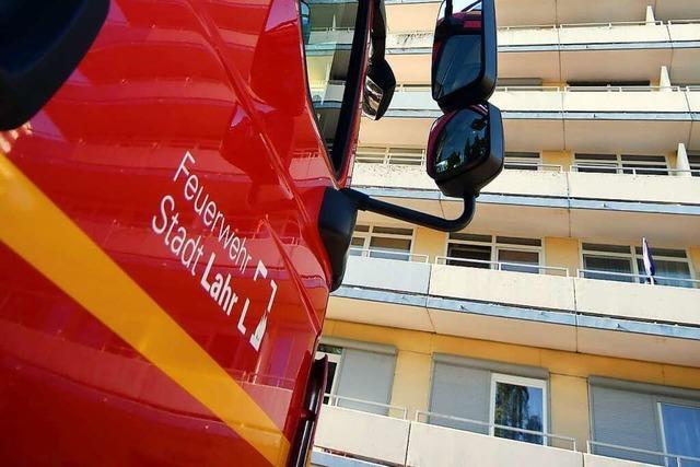 Die Lahrer Feuerwehr ist zu 648 Einsätzen ausgerückt