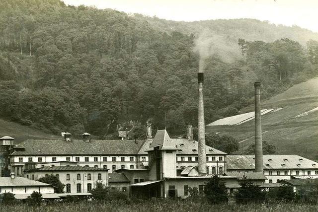 Ein Rabenkopf diente der Freiburger Papiermühle als mittelalterliches Firmenlogo