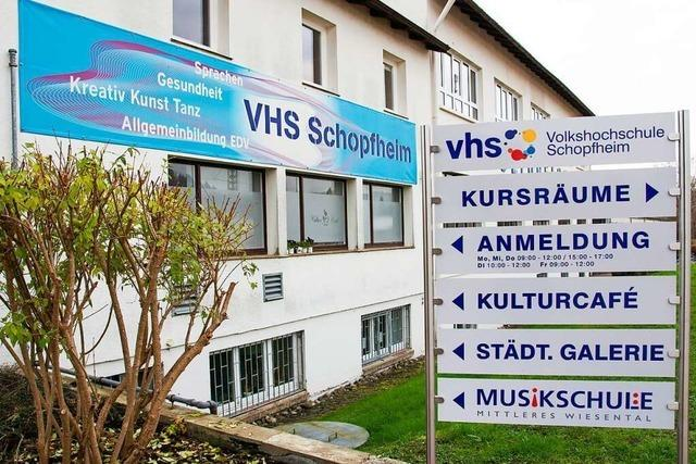 VHS Schopfheim könnte sich eine Fusion mit der VHS Oberes Wiesental vorstellen
