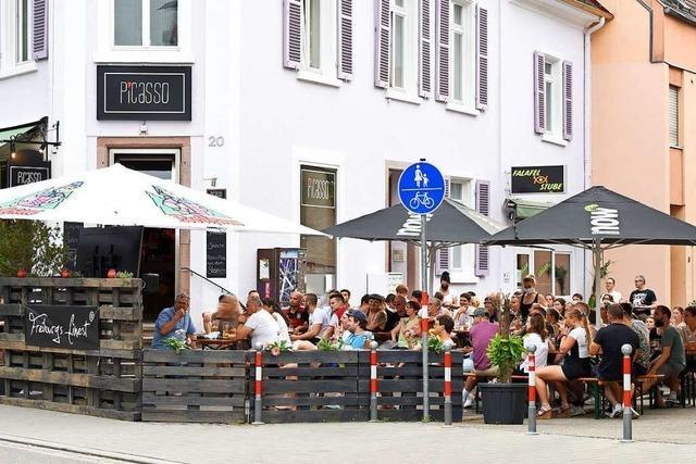 Wirte ohne Außensitzplätze haben es in Freiburg schwer