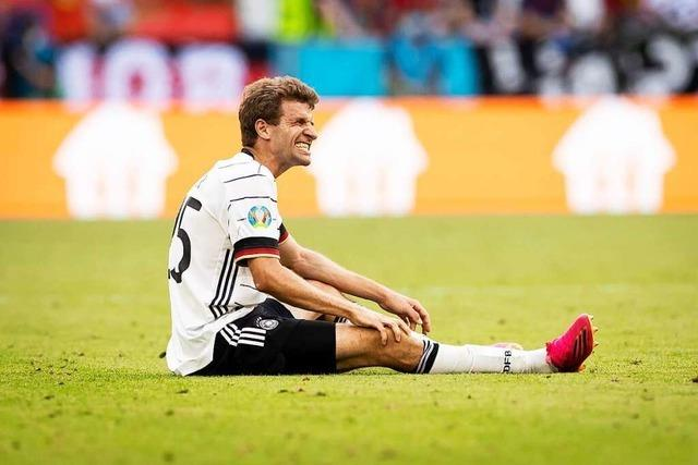 Thomas Müller droht gegen Ungarn verletzt auszufallen