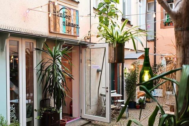 Neueröffnung: Das Café Hinterzimmer in der Grünwälder Straße