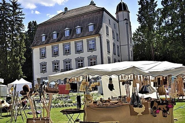 Handwerkskunst im Schlosspark