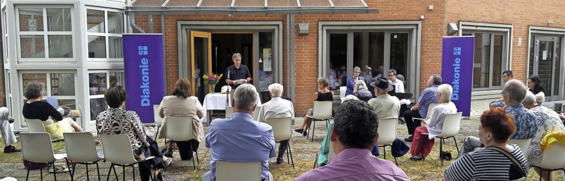 Gottesdienst zum Abschluss der Woche d...em Gottesdienst eine kurze Ansprache.   | Foto: Regine Ounas-Kräusel