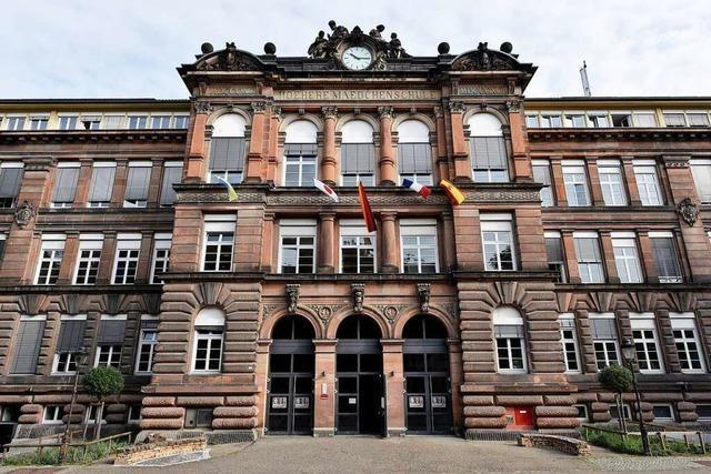 Brand auf der Jungen-Toilette des Freiburger Goethe-Gymnasiums