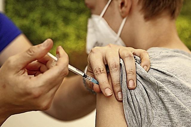 Impfzentrum verweist auf Kinderärzte