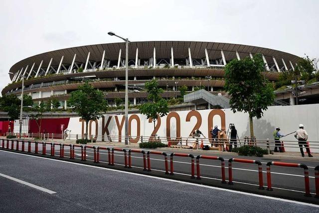Zuschauer in Tokio erlaubt: Hauptsache, schöne Bilder