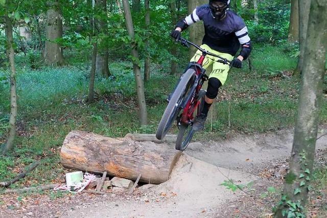 In der Holcim-Kiesgrube in Haltingen wird es keinen Mountainbike-Trail geben