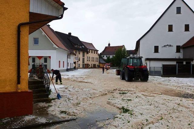Schweres Unwetter löst Erdrutsch in Bachheim aus