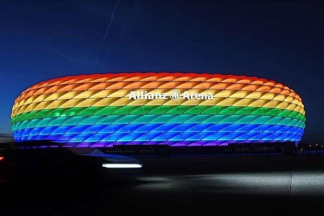 Warum ein Stadion in Regenbogenfarben?