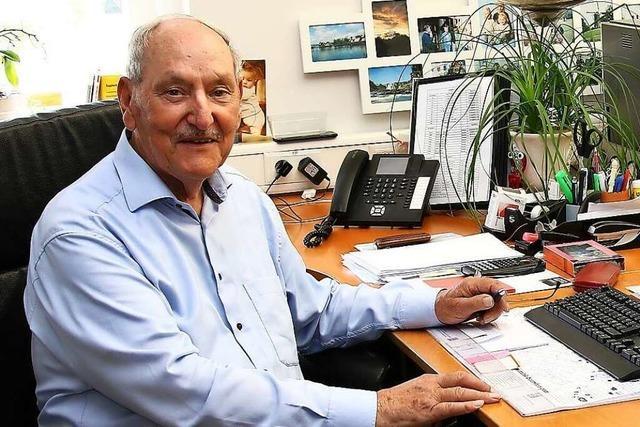 84-Jähriger aus Merdingen geht jetzt endgültig in den Ruhestand