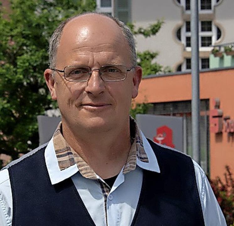 Spricht für  fast 90 örtliche Betriebe...Burgert vom Gewerbe- und Handelsverein  | Foto: Volker Münch