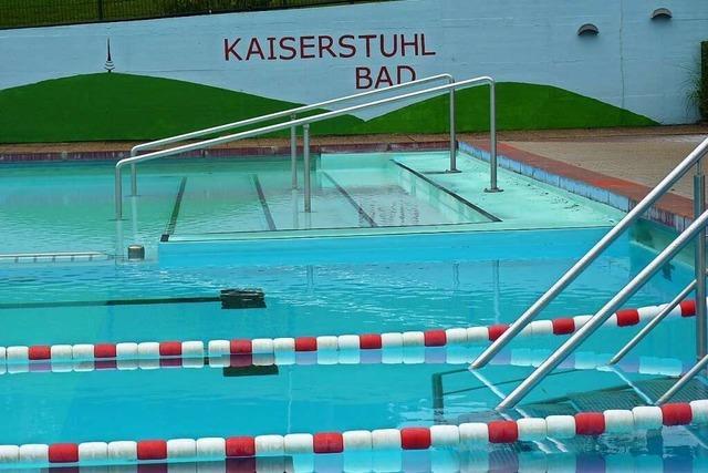 Das Ihringer Kaiserstuhlbad öffnet am Freitag