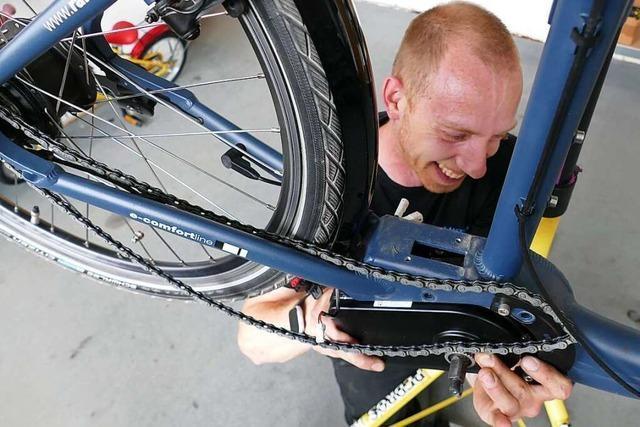 Radfahrer im Kreis Lörrach müssen lange auf Werkstatttermine warten