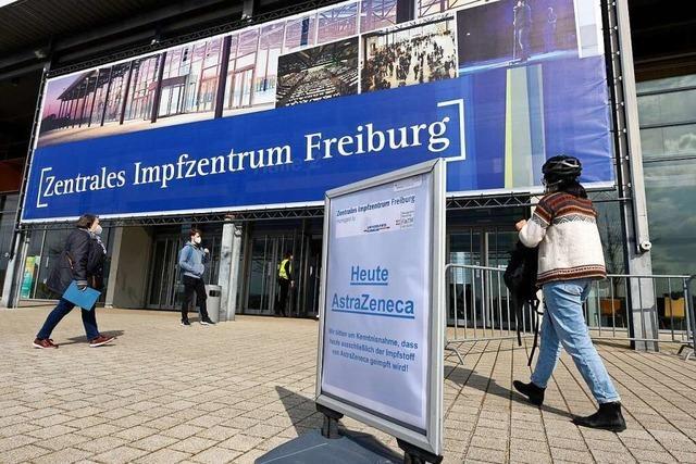 Spätestens Mitte September ist wohl Schluss im Freiburger Impfzentrum