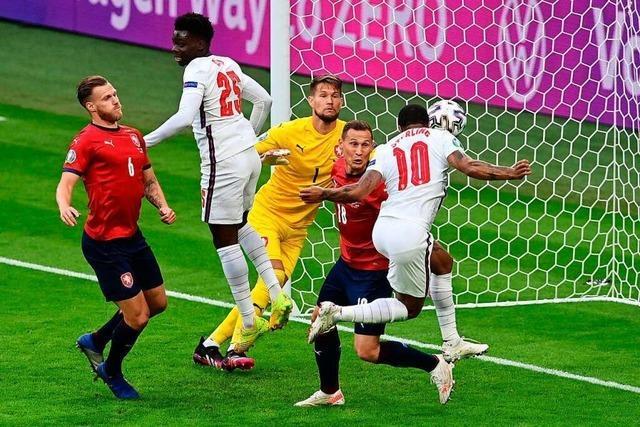 England könnte nun auf Deutschland treffen