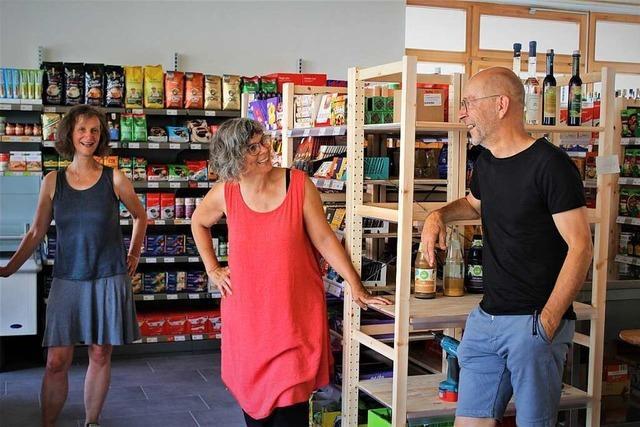 Der Dorfladen in Buchenbach steht kurz vor der Eröffnung