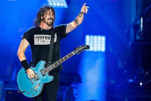 Foo Fighters kommen 2022 nach Basel