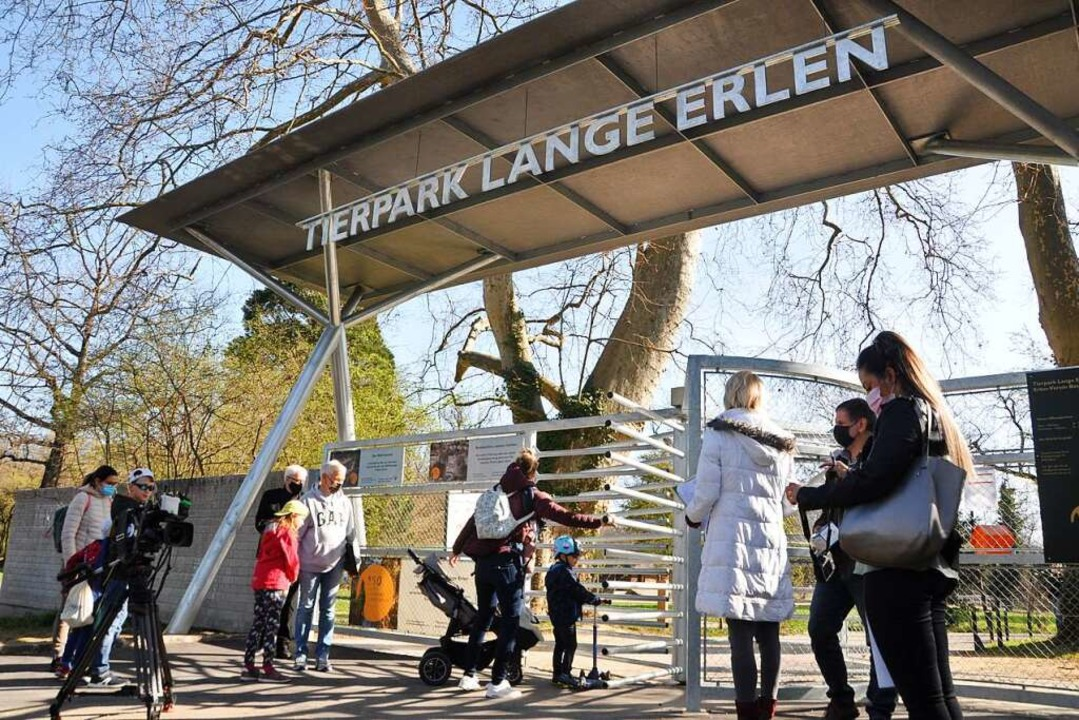 Der Tierpark Lange Erlen feiert im August sein 150-Jähriges Bestehen.  | Foto: Daniel Gramespacher