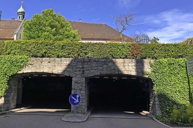 Hitzige Debatte im Gemeinderat wegen Sanierung der Schlossgarage