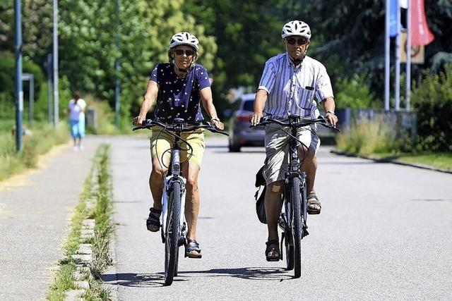 Fünf Fahrradstraßen sind möglich