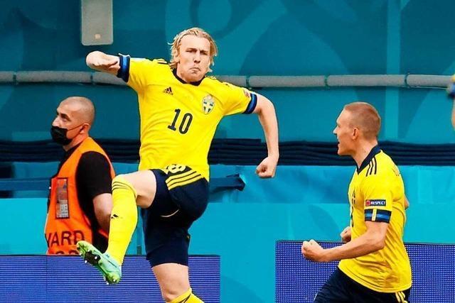 Lewandowskis Tore helfen nicht – die Polen scheiden nach 2:3 gegen Schweden aus