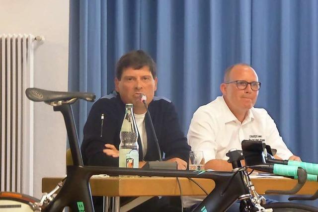 Jan Ullrich wirbt für Bikezentrum in Merdingen