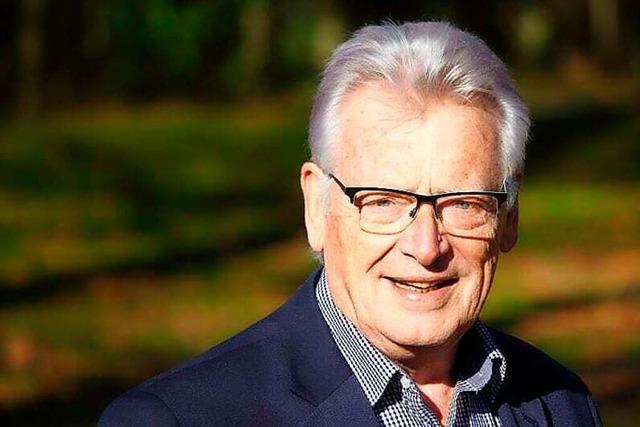Heinz Intveen gehört seit 50 Jahren dem Gemeinderat in Grenzach-Wyhlen an