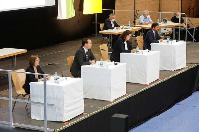 Das wurden die Kandidierenden für die Bürgermeisterwahl in Hohberg am zweiten Vorstellungsabend gefragt