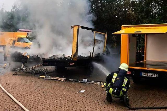 Feuerwehr in Bad Krozingen rechnet mit mehr E-Auto-Bränden