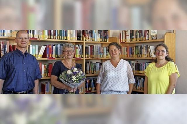 Wechsel in der Leitung der Bücherei