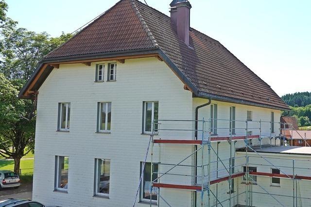 Umbauarbeiten nehmen Fahrt auf