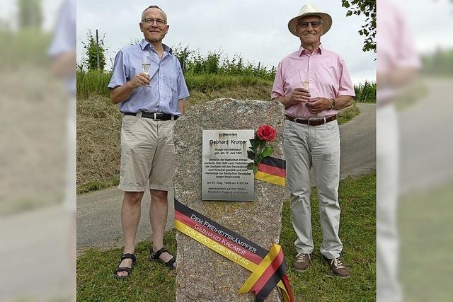 Gedenken an Gebhard Kromer