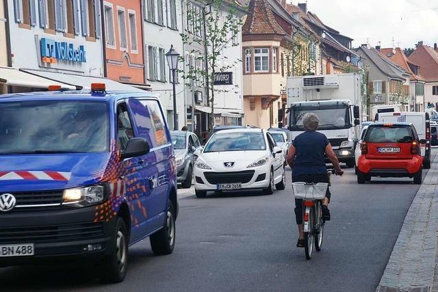 Stadt Kenzingen meldete früh Bedenken zu Bauarbeiten und Umleitungsplänen an