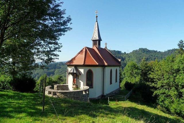 Die Kreuzbergkapelle in Buchenbach wurde vor 120 Jahren geweiht