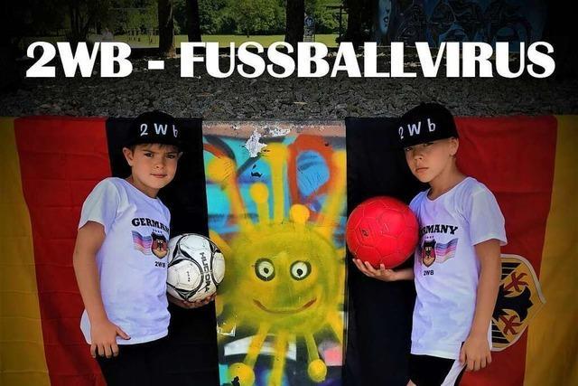 Zwei Jungs aus Weil am Rhein wollen mit einem EM-Song Fußballfieber verbreiten