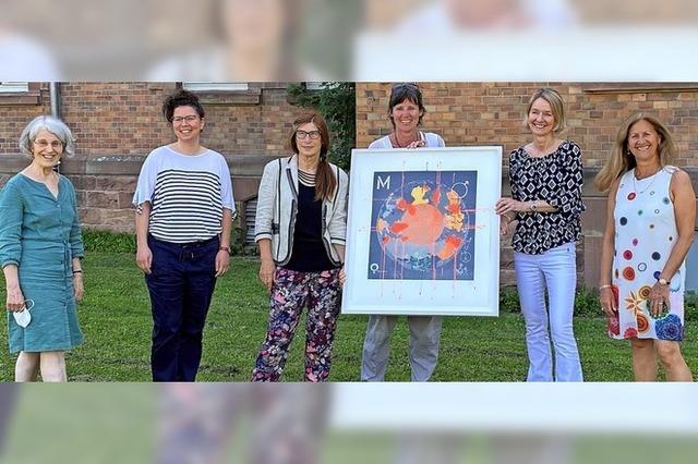 Kunst und Spende fürs Frauenhaus