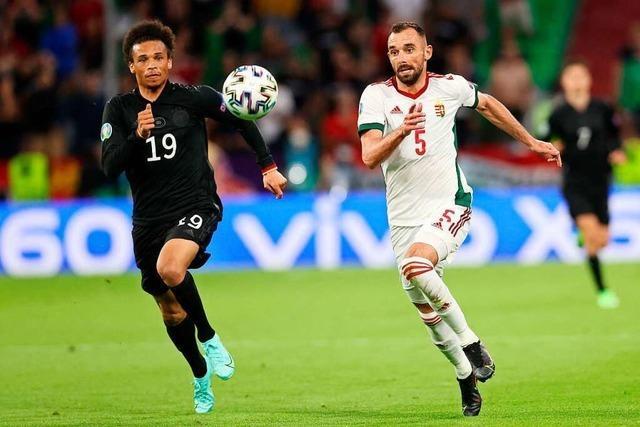 Sané schafft es gegen Ungarn wieder nicht, sein Potenzial zu zeigen