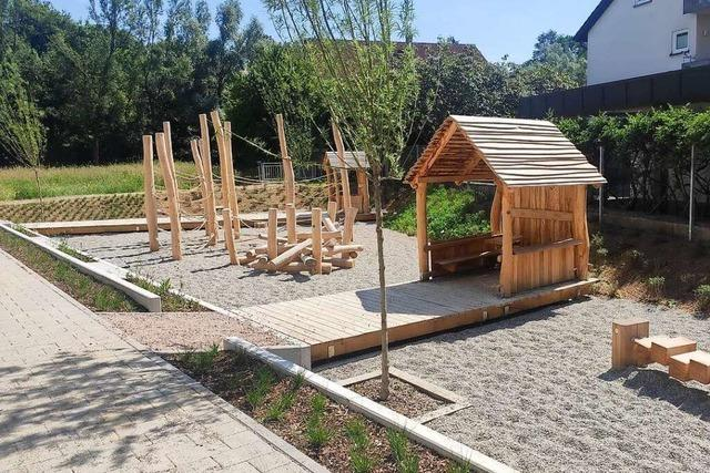 Schopfheim möbelt zwei Spielplätze auf – und eröffnet einen neuen
