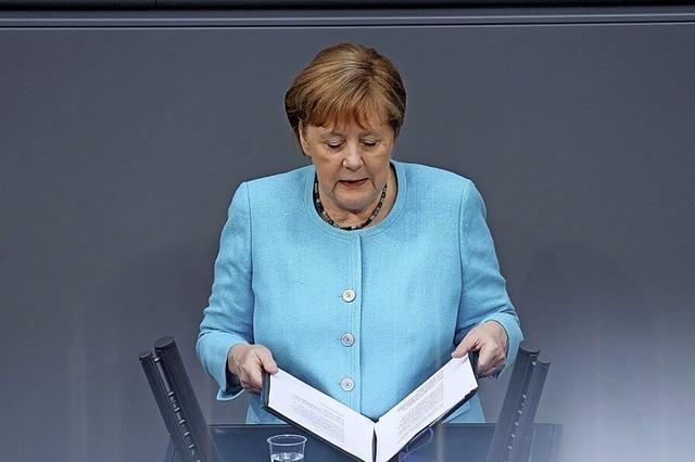 Eine Bühne für Merkels potenzielle Nachfolger