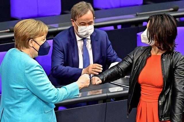 Merkels letzte Erklärung vor dem Bundestag