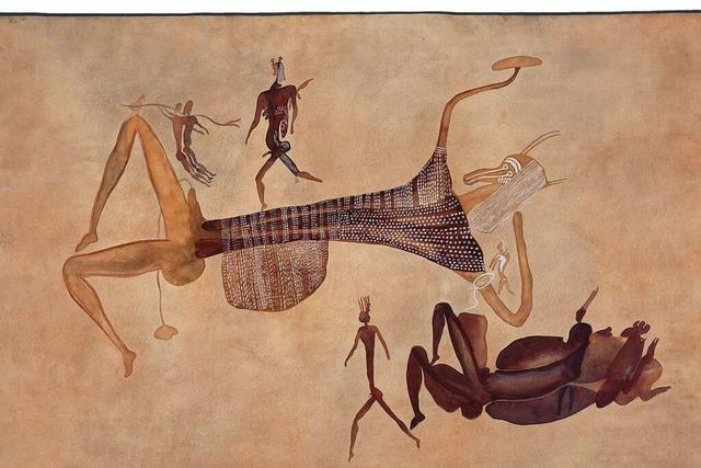 Felsbilder: Vor 20 000 Jahren lernte die Kunst das Laufen