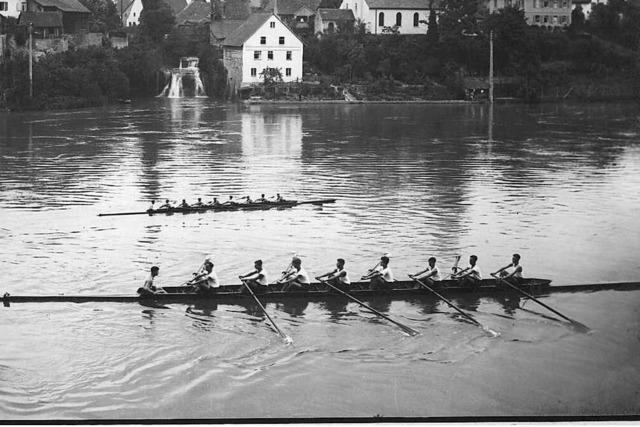 Ruderclub Rheinfelden feiert den 100. Geburtstag noch vor der Stadt
