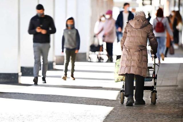 In Freiburg gibt es immer mehr Menschen über 65 Jahren