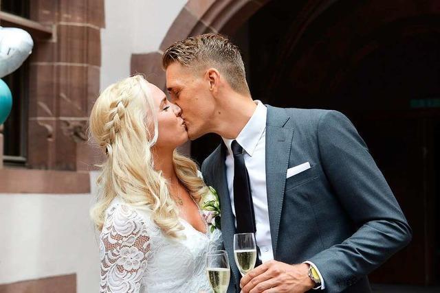 Carla Dittmers und Nils Petersen haben geheiratet