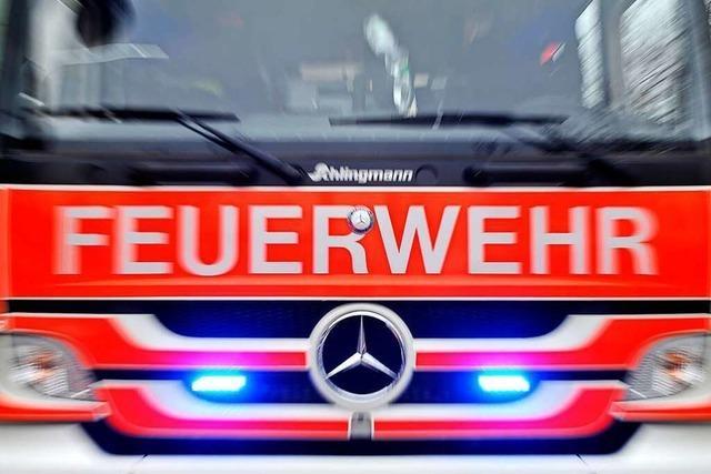 Zahlreiche Einsätze der Feuerwehr Murg