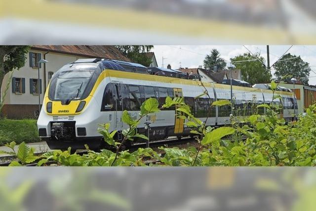 Neue Züge bei der SWEG