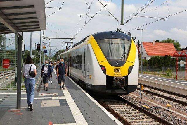 Erneute Klagen über verpasste Anschlüsse auf der Breisgau-S-Bahn